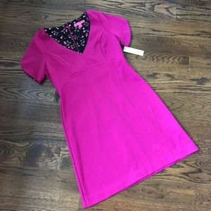 Betsey Johnson Fuschia Dress - NWT